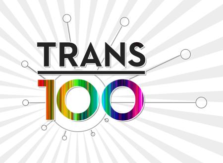 Trans 100 logo