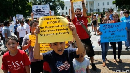 immigrant youth protest of border security policy